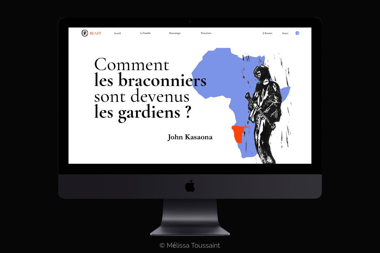 page web avec fond carte afrique bleu et soldat africain