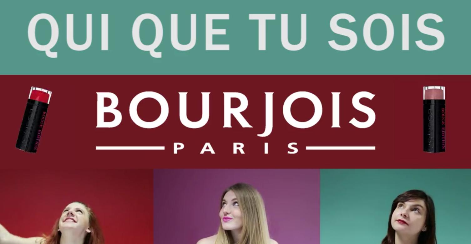 pub rouge à lèvre Bourjois