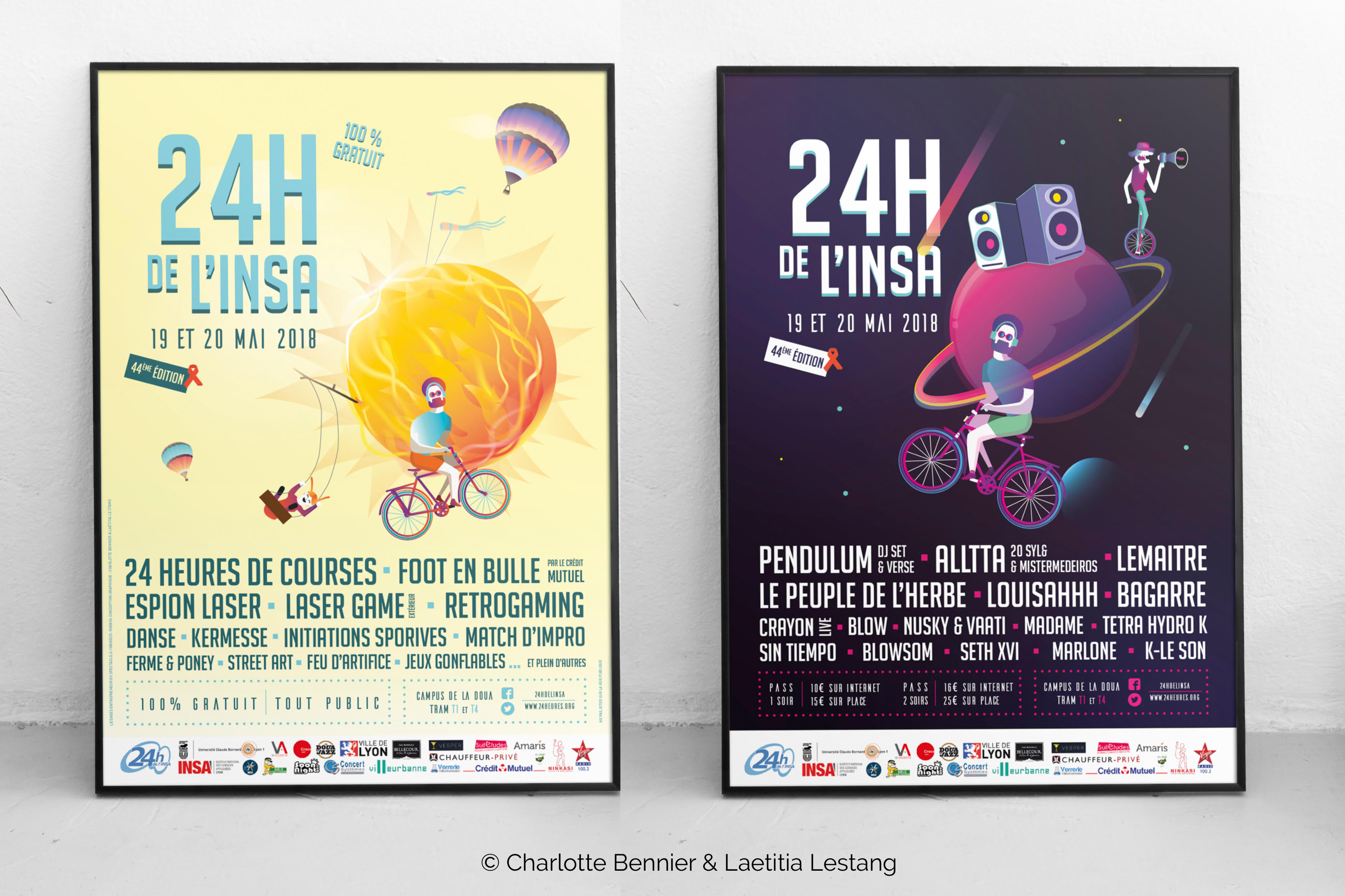 Affiche 24h INSA 2018
